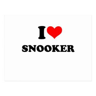 Cartão Postal snooker
