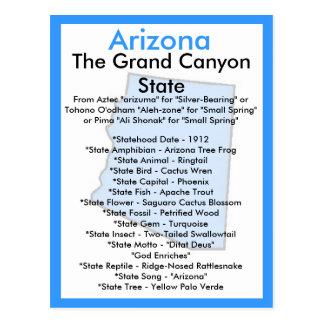 Cartão Postal Sobre a arizona