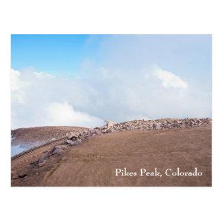 Cartão Postal Sobre a cimeira do pico dos piques