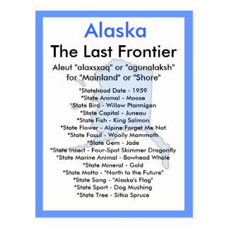 Cartão Postal Sobre Alaska
