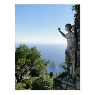 Cartão Postal Sobre Capri