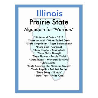 Cartão Postal Sobre Illinois