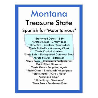 Cartão Postal Sobre Montana