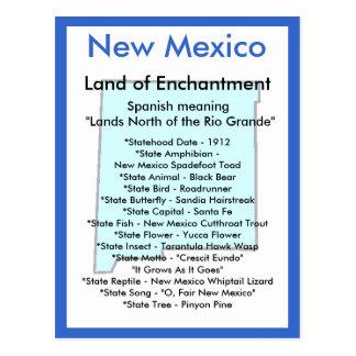 Cartão Postal Sobre New mexico