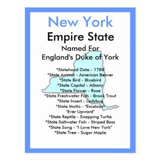Cartão Postal Sobre New York