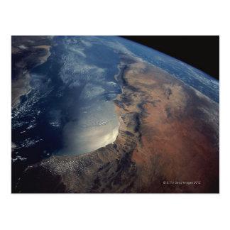Cartão Postal Sobre o Golfo de Áden e Somália