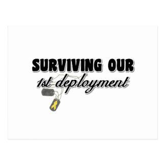 Cartão Postal Sobrevivendo a nosso ø desenvolvimento