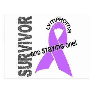 Cartão Postal Sobrevivente do linfoma