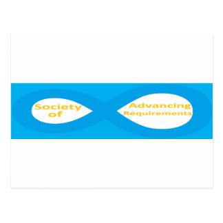 Cartão Postal Sociedade de exigências de avanço (SOAR)