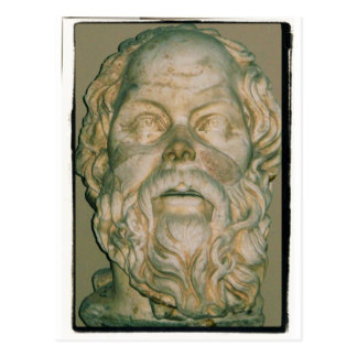 Cartão Postal Socrates do filósofo