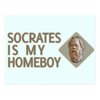 Cartão Postal Socrates é meu ficar em casa