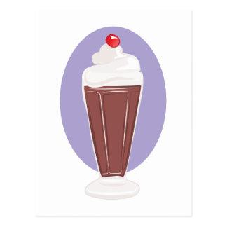 Cartão Postal Soda do chocolate