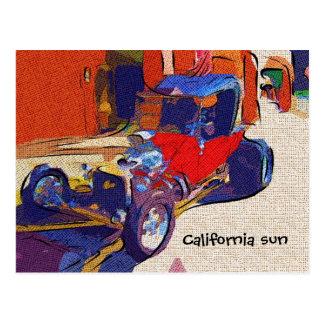 Cartão Postal Sol de Califórnia