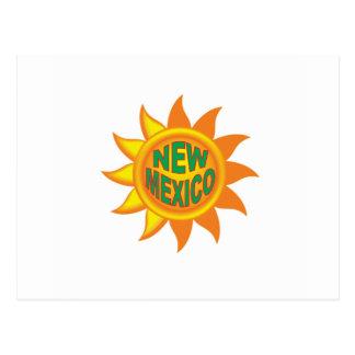 Cartão Postal Sol de New mexico