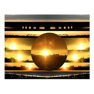 Cartão Postal SOL - fonte de energia vital
