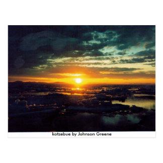 Cartão Postal SOL GJ AJUSTADO, kotzebue por Johnson Greene
