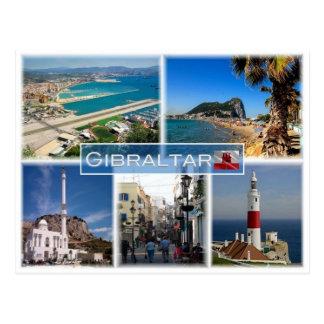 Cartão Postal SOLDADO Gibraltar -