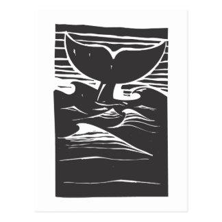 Cartão Postal Solha da baleia