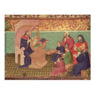 Cartão Postal Solomon dita os provérbio