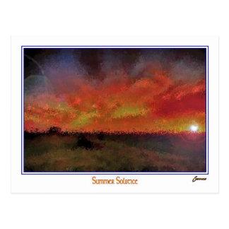 Cartão Postal solstício de verão