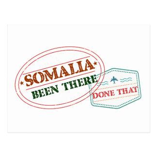 Cartão Postal Somália feito lá isso