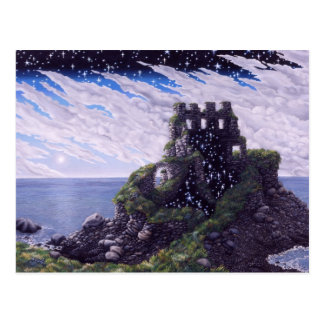 Cartão Postal Sombras do castelo