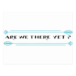 Cartão Postal Somos nós lá ainda?
