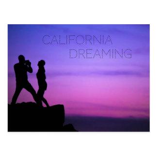 Cartão Postal Sonho de Califórnia