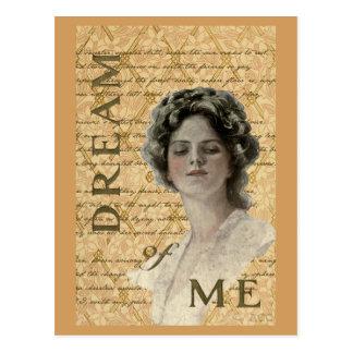 Cartão Postal Sonho de mim namorados