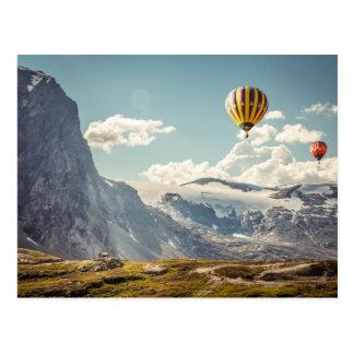 Cartão Postal Sonho do vôo