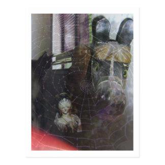 Cartão Postal Sonhos do Dia das Bruxas