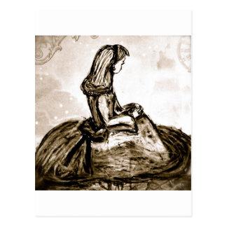 Cartão Postal Sonhos do remendo da abóbora