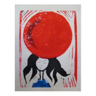 Cartão Postal Sonhos japoneses