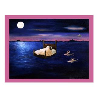 Cartão Postal Sonhos molhados