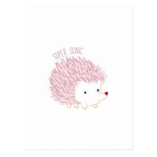 Cartão Postal Sonic super