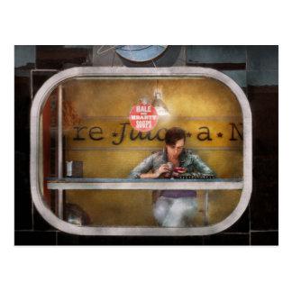 Cartão Postal Sopas sãos e entusiastas da janela - Hoboken, NJ -
