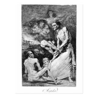 Cartão Postal Sopro por Francisco Goya