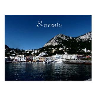 Cartão Postal Sorrento, Italia