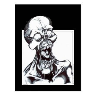 Cartão Postal Sorrindo o Ghoul
