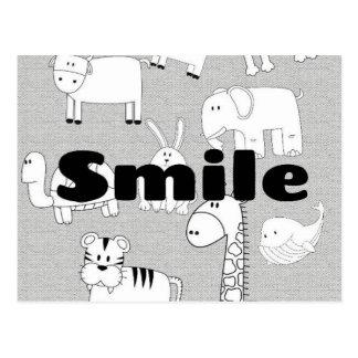 Cartão Postal Sorriso