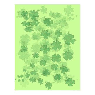 Cartão Postal Sorte do irlandês