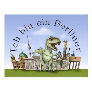 Cartão Postal Sou um berlinense Postcard