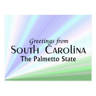 Cartão Postal South Carolina