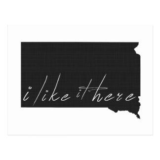Cartão Postal South Dakota eu gosto d indico aqui o preto da