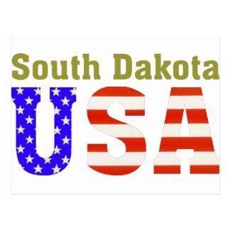 Cartão Postal South Dakota EUA!