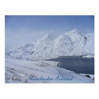 Cartão Postal South End da Baía do capitão, ilha de Unalaska