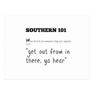 Cartão Postal southern101-2