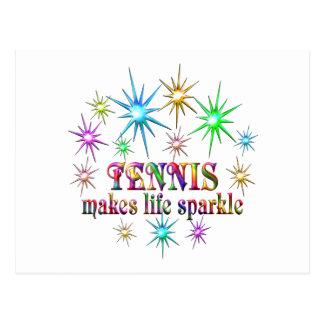 Cartão Postal Sparkles do tênis
