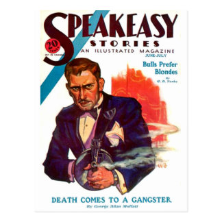 Cartão Postal Speakeasy