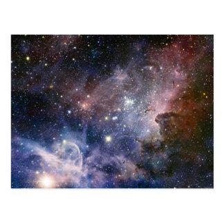Cartão Postal Spectacular da astronomia da nebulosa de Carina do
